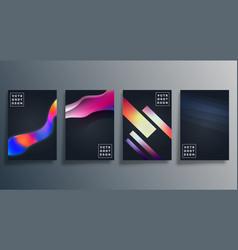 Colorful gradient texture design for wallpaper vector
