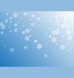 crystal snowflake and circle elements vector image