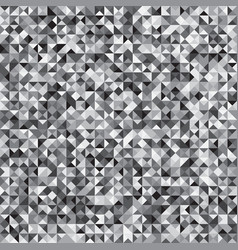 pixelated grey mosaic check pattern background vector image