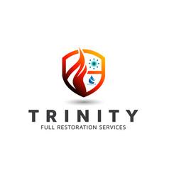Restoration free logo design template vector