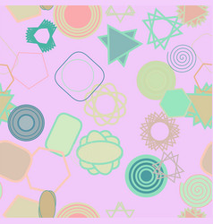 seamless background abstract geometric mixed vector image