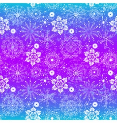 Seamless glowing christmas pattern vector image