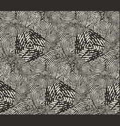 seamless pattern repeating monochrome vector image