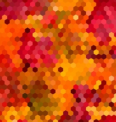 Abstract colorful honeycomb background design vector image vector image