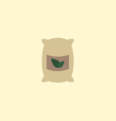 flat icon grown bags element vector image