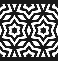 seamless pattern stars ornament texture vector image vector image