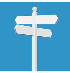 sign post vector image vector image