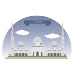 Abu Dhabi vector