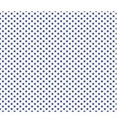 american patriotic seamless pattern blue stars vector image