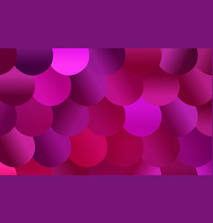 brightly colored pink and magenta mosaic scale vector image