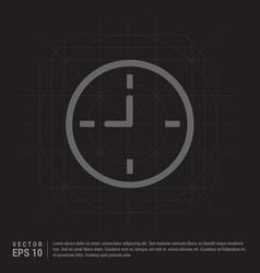 Clock icon vector