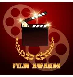 Film Awards Poster vector