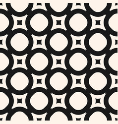 geometric texture monochrome seamless pattern vector image