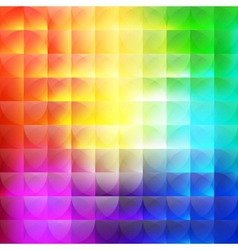 multicolor abstract background of semicircles vector image
