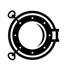 porthole vector image
