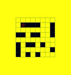 Sea battle board game vector