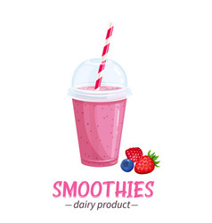smoothies icon vector image