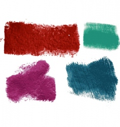 textured paint vector image
