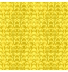yellow corn seamless pattern vector image vector image