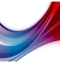 Abstract wave blue swoosh background vector