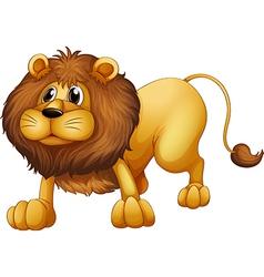 Cartoon Lion vector image vector image