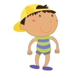 Little kid vector image