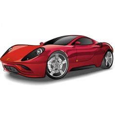 Luxury car vector