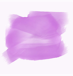 Purple watercolor texture with text space vector