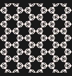 Seamless pattern abstract geometric floral texture vector