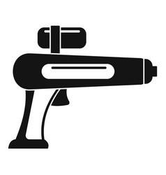 watergun icon simple style vector image