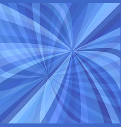 abstract curved ray burst background vector image
