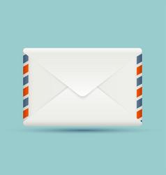 Blank envelope vector