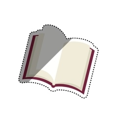 Book library education vector image