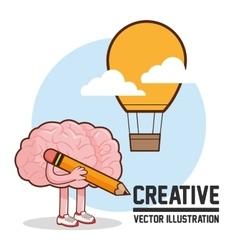 Creative design Colorfull Cartoon vector