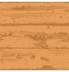 Decorative Wooden Seamless Pattern vector image