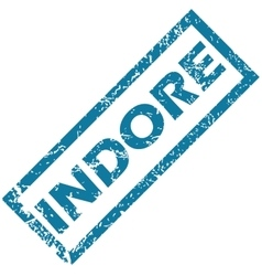 Indore rubber stamp vector