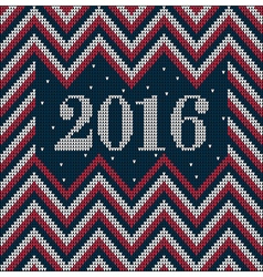 Knitting USA colors pattern sweater battlement21 vector