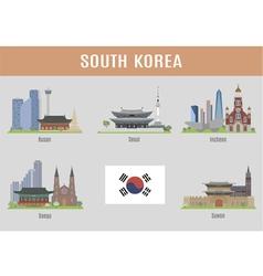 Korea vector image