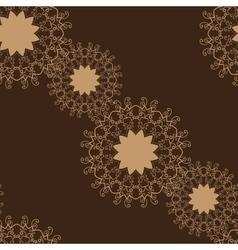 Seamless Brown Color Tile vector