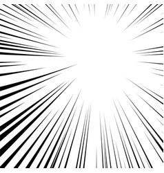 Speed lines comic book design vector