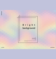 Textured holographic background vector