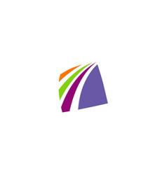 square loop company logo vector image vector image