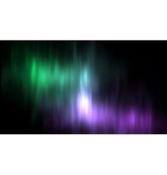 aurora borealis northern lights vector image