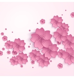 Beautiful abstract floral trendy background with vector image
