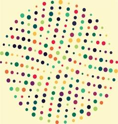 Circle dot Pattern vector