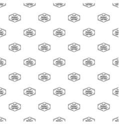 Gmo free pattern seamless vector