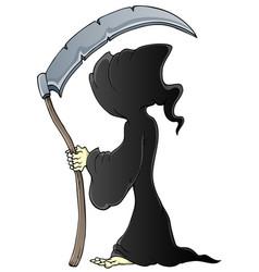 Grim reaper theme image 1 vector