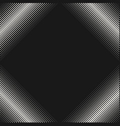 Halftone pattern texture with dots in square form vector