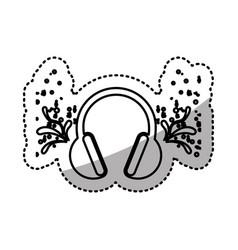 headphone icon stock image vector image