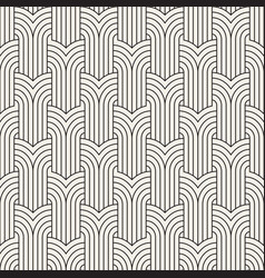 Seamless art deco pattern repeating vector